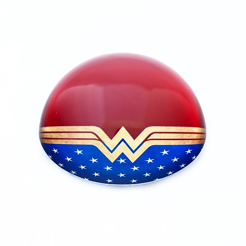 Wonder Woman Inspired Dome Paperweight