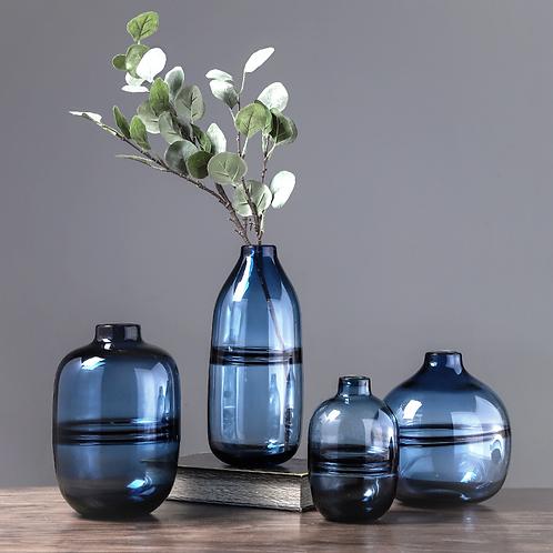 Venetian Blue Zen Vase
