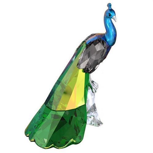 Swarovski Peacock Figurine