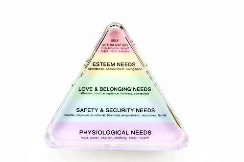 Hierarchy of Needs Pastel Paperweight