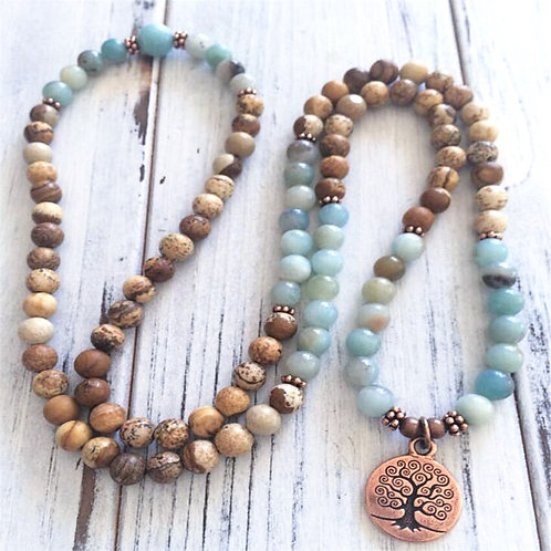 Tibetan Zen Mala Beads