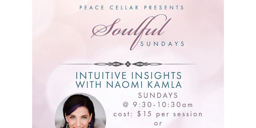 Soulful Sunday at Peace Celler (A Virtual Event)