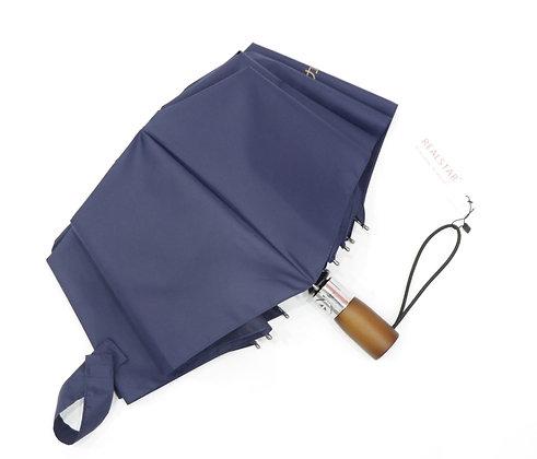 Paraguas Jumbo con mango de madera y filtro solar