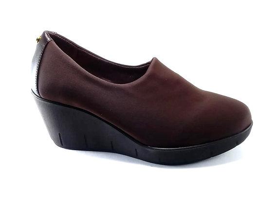 Hispana Zapato Con Altura De 7 Cm Mod. Gaby Choclo