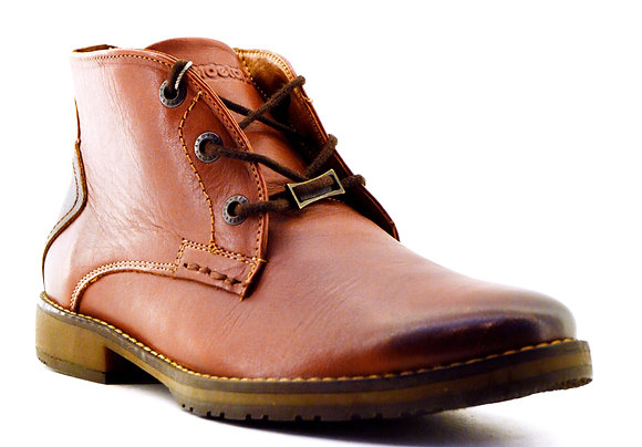 Verde Tabaco bota de piel 4096 tan