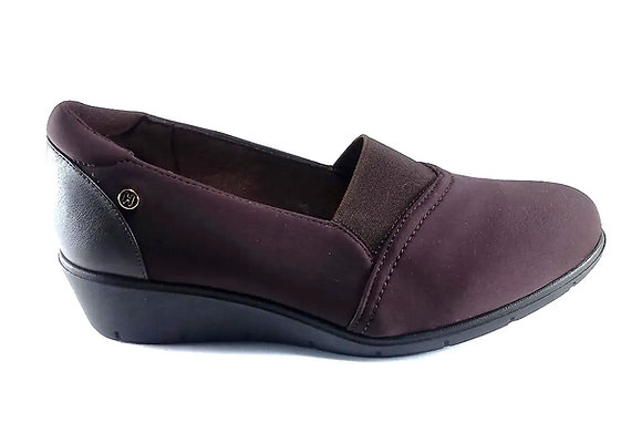 Hispana Zapato Confort Clásico Mod. Lore Choclo Ferrero.