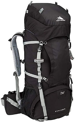High Sierra Explorer 55 L Black Silver