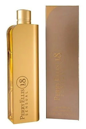 Perry Ellis Sensual 18 dorado EDP 100 ml
