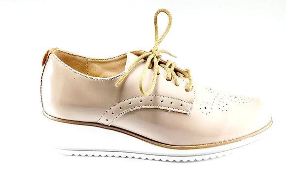 Hispana Zapato Confort Mod. Letizia Charol Pelle
