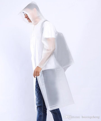 Impermeable con protector de mochila Mod.203