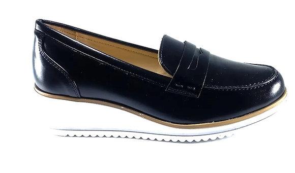 Hispana Zapato Confort Mod. Letizia Negro