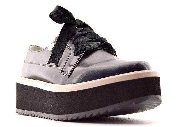 DVA Zapato Casual con agujeta negro