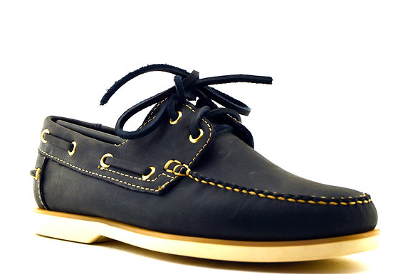 Black & Yellow Top Sider 0288 Azul