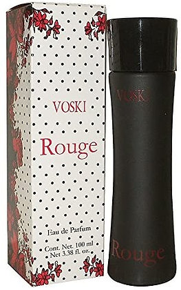 Voski Rouge Eau de Parfum Fragrance Set for Women, 3.38 Fluid Ounce