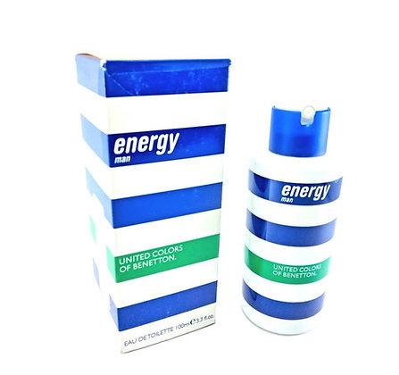 Benetton Energy caballero  100ml eau toilette