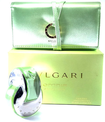 Bvlgari Omnia green jade 65ml edt estuche c/cosmetiquera.