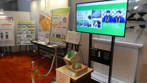 元気プロジェクトが県議会ロビーで紹介されています