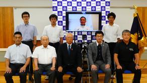 東京オリンピック 日本代表 三浦里佳子選手 激励会