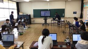 電気電子科3年 小学校で出前授業を行ってきました!