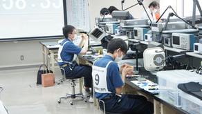 高校生ものづくりコンテスト山形県大会電子回路組立部門 優勝