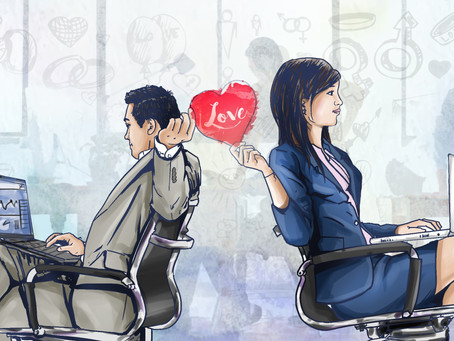 Can romance in workplace increase wellbeing and motivation?