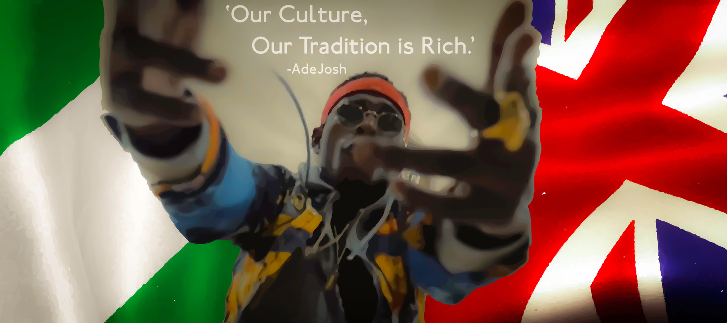 'Africa as a whole is full of riches and it always has been. I mean this as more than just gold, diamonds and oil. Our culture, our Tradition is rich.'