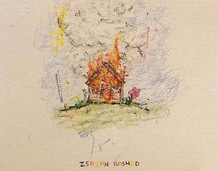 Isaiah Rashad - The House Is Burning 9x7-01.jpg