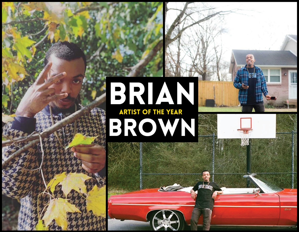 2020 Artist of the Year   Brian Brown
