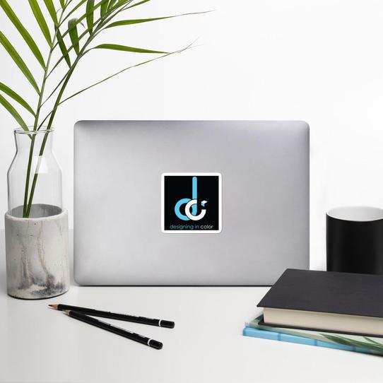 DCo Logo Stickers - Black