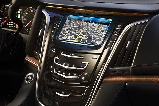 Навигационная сстема в Cadillac