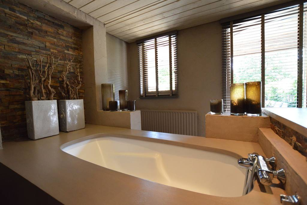 Badewanne, Deko, Fenster