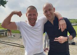 Männer beim Crossfit Workout