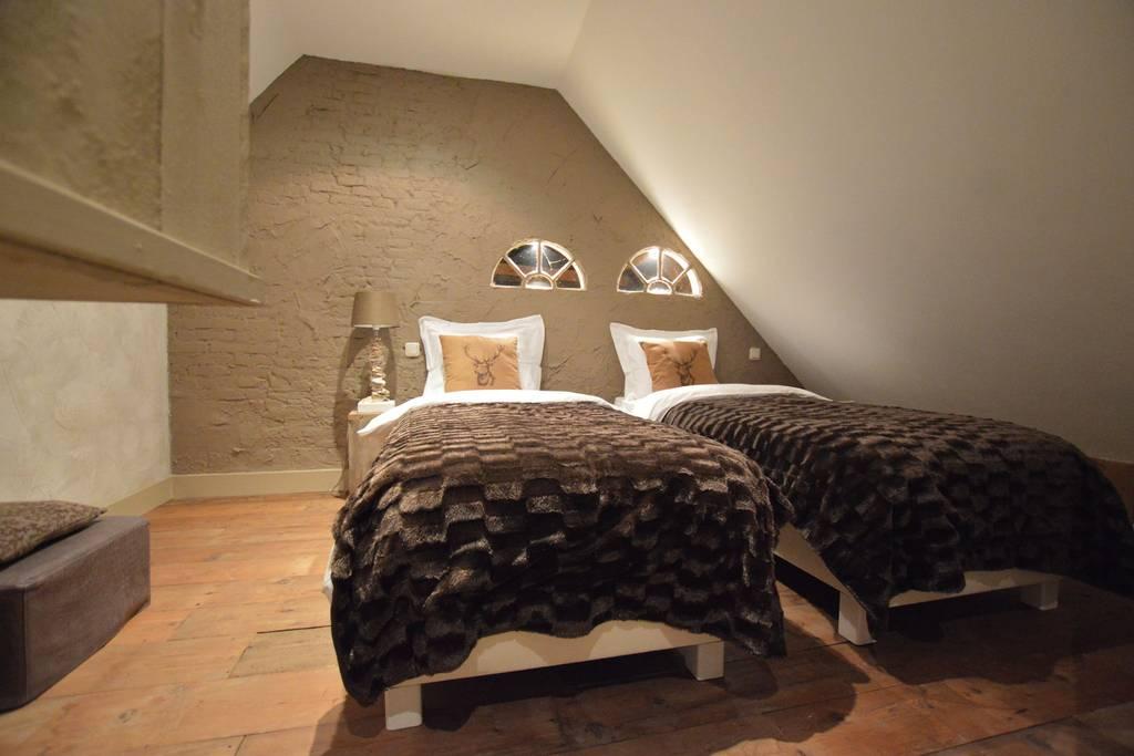 Schlafzimmer 1, Doppelzimmer, Bett