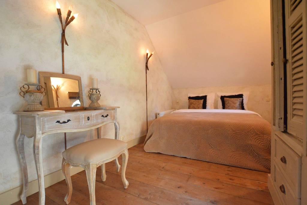 Schlafzimmer 3, Doppelzimmer, Bett