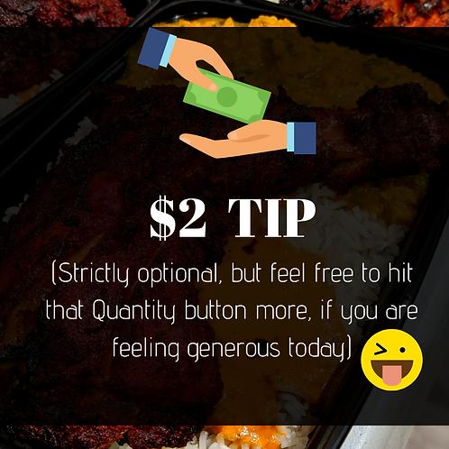 $2 Tip