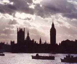 Parliament over the Thames