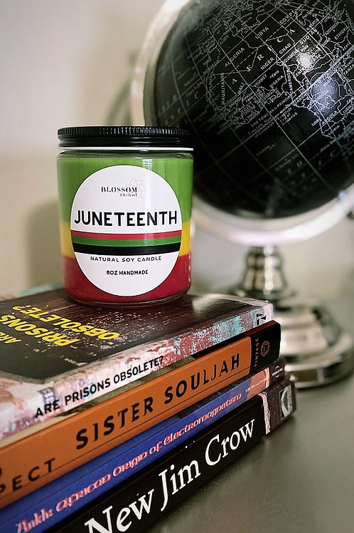 Juneteenth Candle