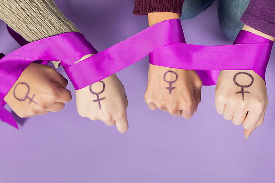 close-up-women-hands-with-feminism-symbo