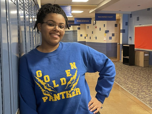 Ponitz Student Reflects on State-Wide Math Recognition