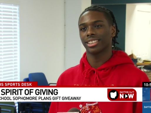 Spirit of Giving - High school sophomore plans surprise for senior living facility