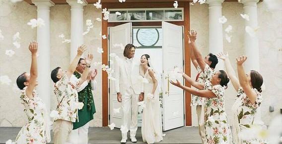 Four Seasons 広告 Arluis wedding