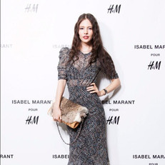 H&M x Isabel Marant collaboration event