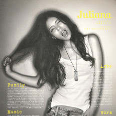 Sweet magazine - Juliana's private life interview