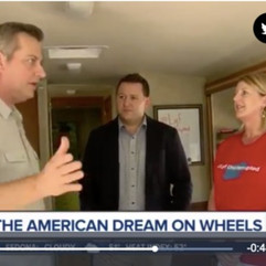 Sharing our Journey With Others!            ABC15 News Feature