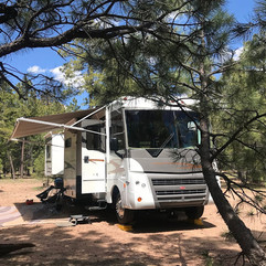 ON THE ROAD AGAIN!  1 Month of Full Time RVing!  Arizona, New Mexico and TV Show Interview - Oh My!!