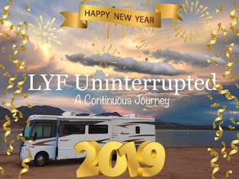 Happy New Year - 2019!                                      Let the ADVENTURE begin!