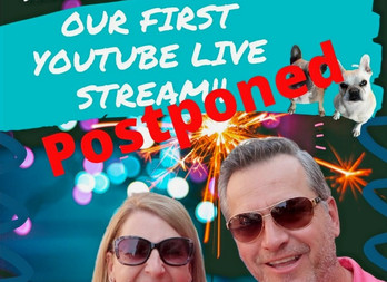 Our first YouTube Live Stream! 6/28 at 6:00 PM EST