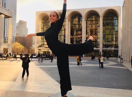 Ayesha impresses international Directors at YAGP finals in New York City