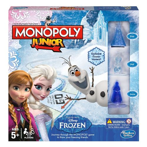 Monopoly Jr Disney Frozen Edition