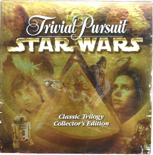 Trvial Pursuit Star Wars Classic Trilogy